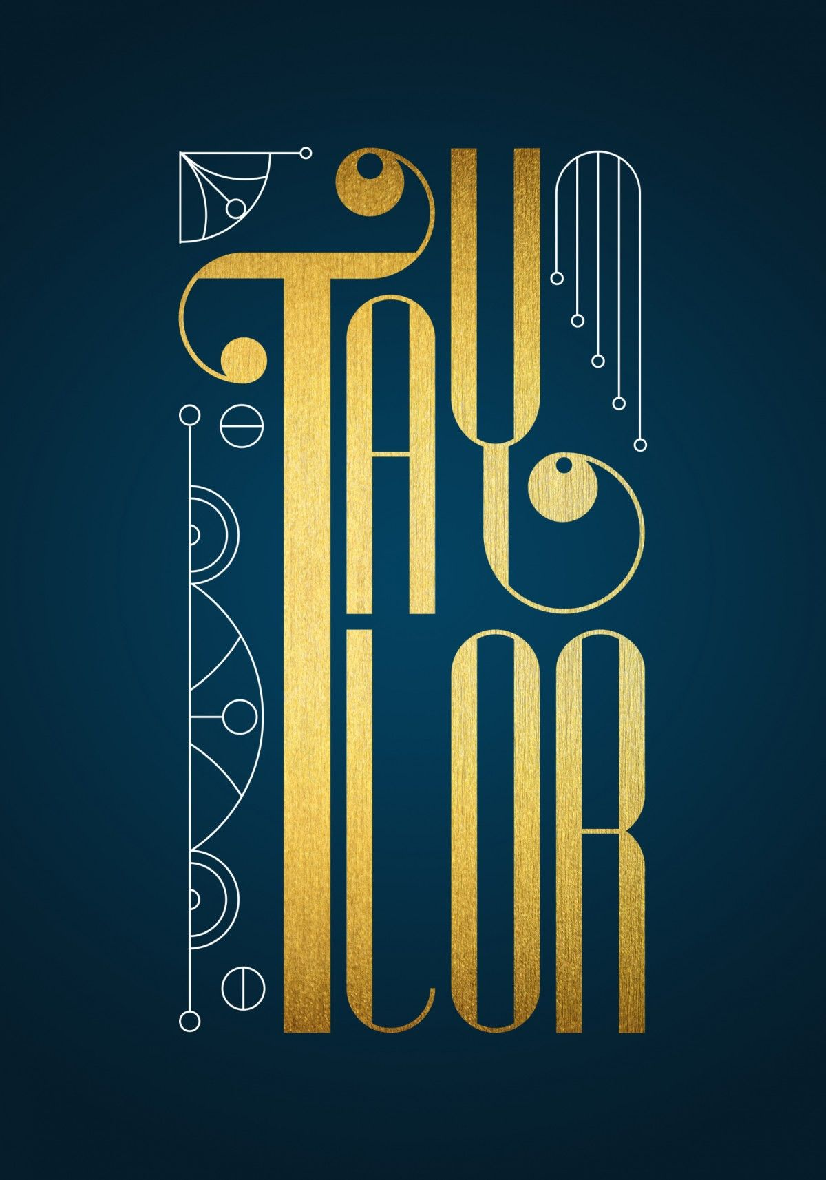 Taylor lettering by timone