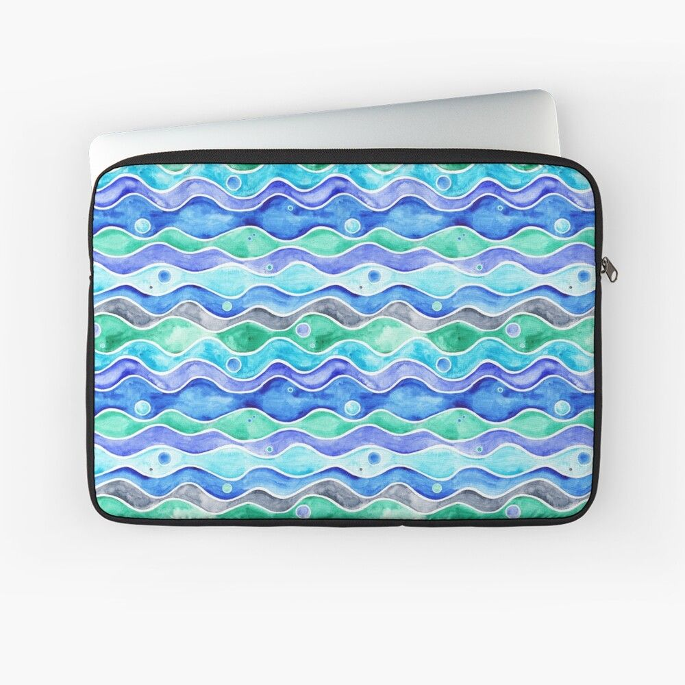 Ocean pattern on ipad cover by timone